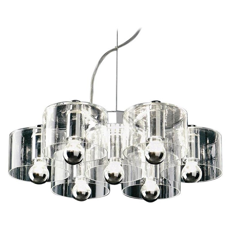 Marta Laudani & Marco Romanelli Suspension Lamp 'Fiore' 423 by Oluce For Sale