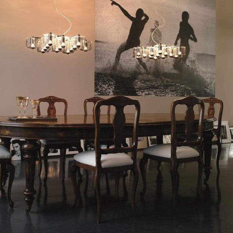 Italian Marta Laudani & Marco Romanelli Suspension Lamp 'Fiore' 433 by Oluce For Sale