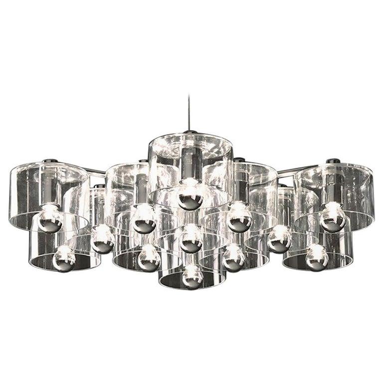 Marta Laudani & Marco Romanelli Suspension Lamp 'Fiore' 433 by Oluce For Sale