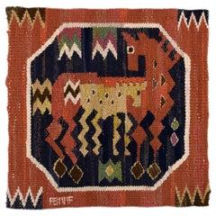 Märta Måås-Fjetterström, Sweden Handwoven rug of wool