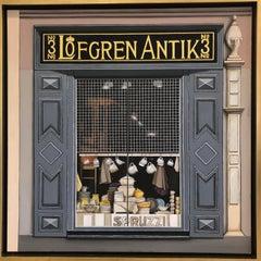 Lofgren Antique Window Display