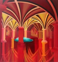 Awakening - XXI Century, Contemporary Acrylic Painting