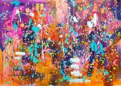 Dream, Painting, Acrylic on Canvas