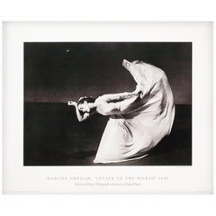Martha Graham, Letter to the World 1994 U.S. Exhibition Poster