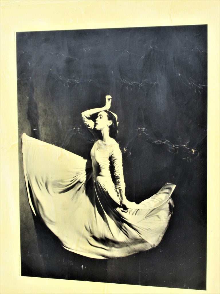 Mid-20th Century Martha Graham, Letter to the World, Barbara Morgan, 1969 For Sale