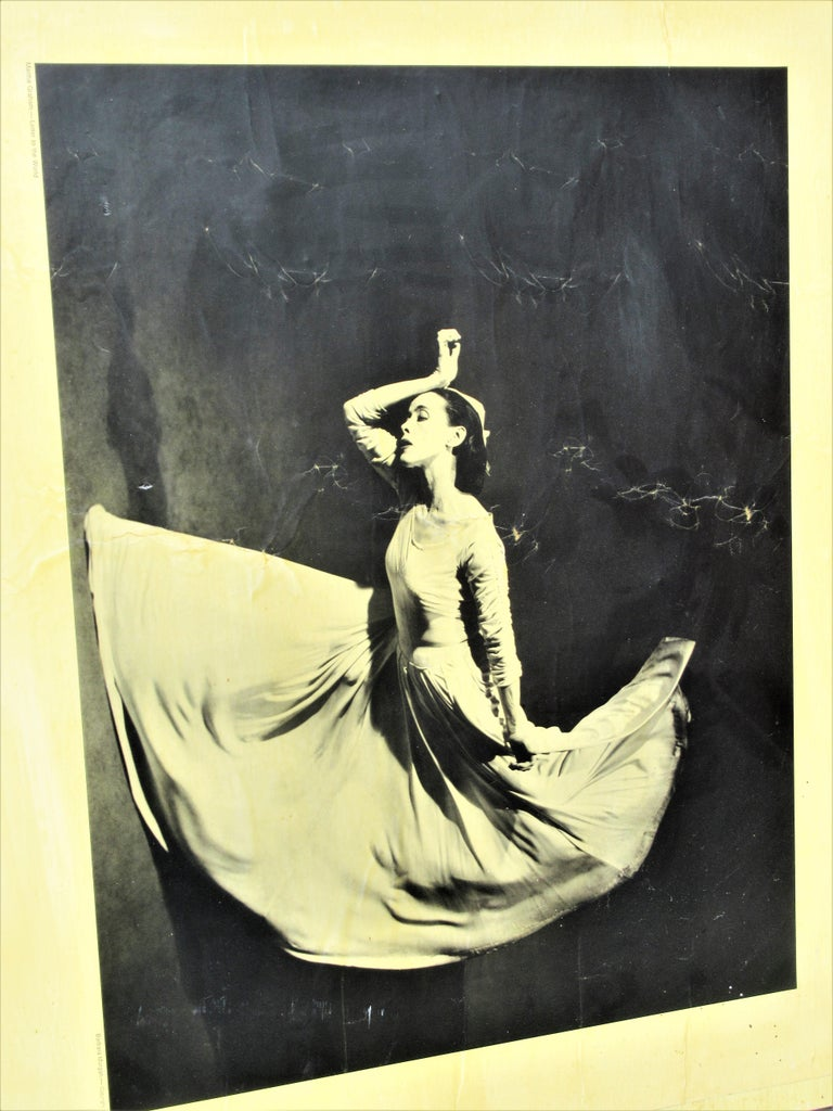 Martha Graham, Letter to the World, Barbara Morgan, 1969 For Sale 1