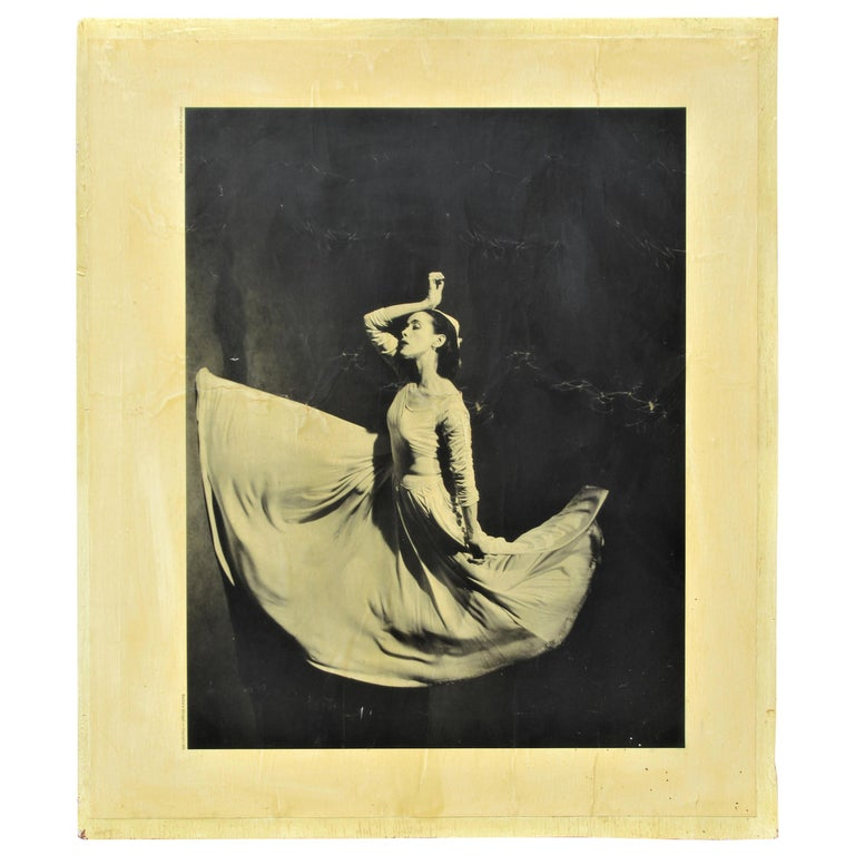 Martha Graham, Letter to the World, Barbara Morgan, 1969 For Sale