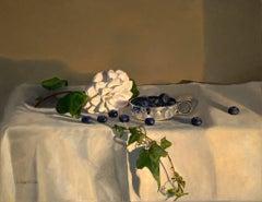 Camellia original realism still painting