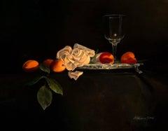 Sophies Bouquet original realism painting