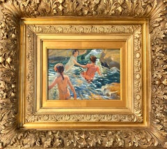The Bath, Impressionist Painting After Joaquin Sorolla
