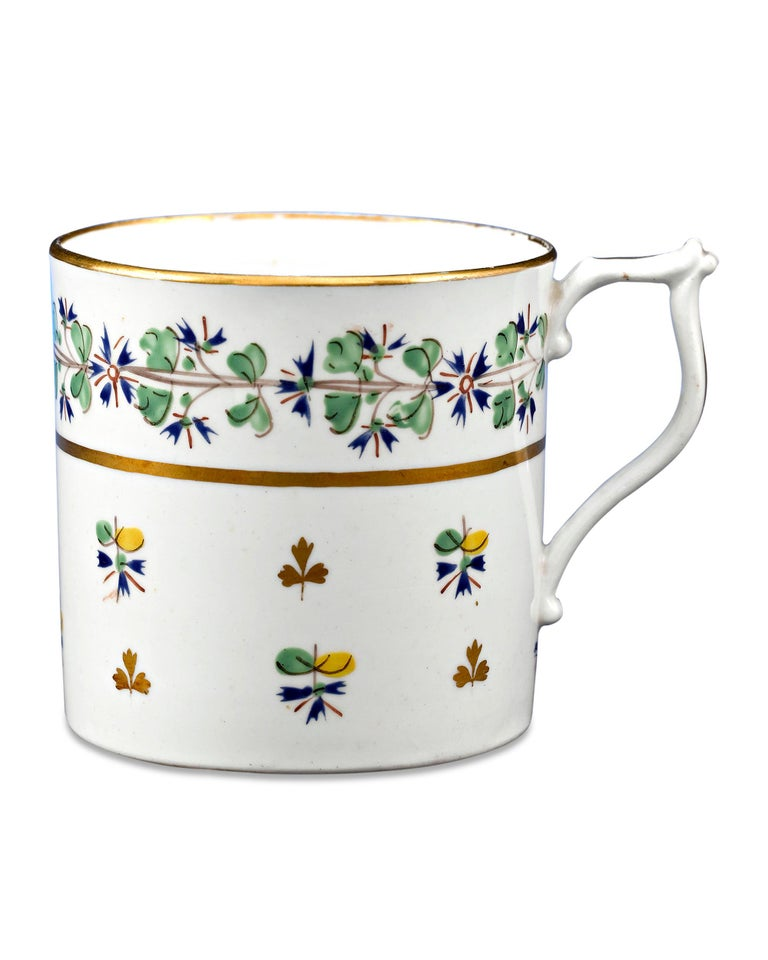 Other Martha Washington's Porcelain Cups and Saucer For Sale