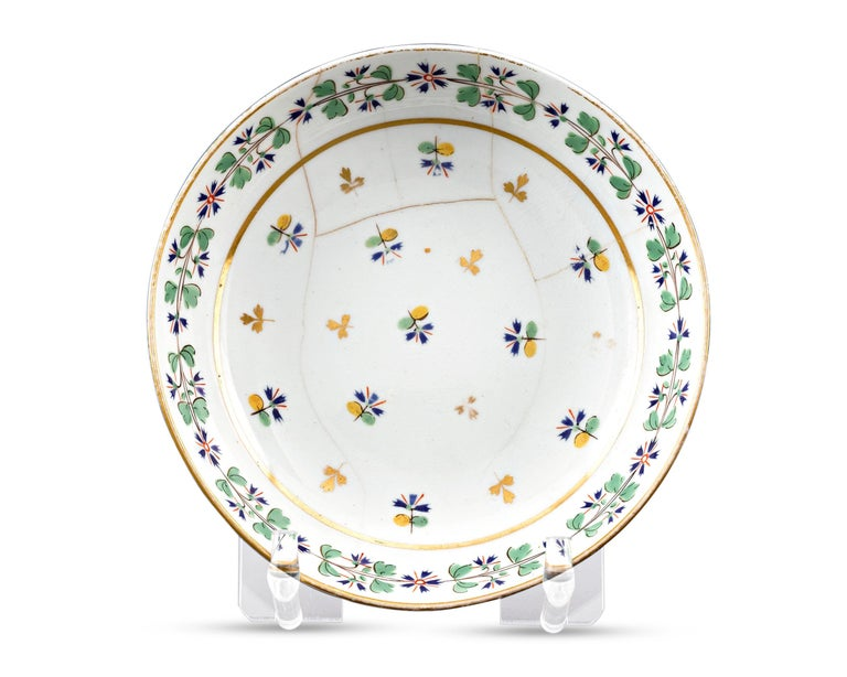 American Martha Washington's Porcelain Cups and Saucer For Sale