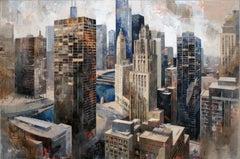 15620 - 21st Century, Contemporary, Figurative Painting, Mixed Media