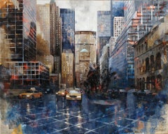 16710 Park Av. - 21st Century, Contemporary, Figurative Painting, New York