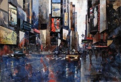 16711 Times Square - 21st Century, Contemporary, Figurative Painting, New York