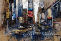 16727 Times Square - 21st Century, Contemporary, Figurative Painting