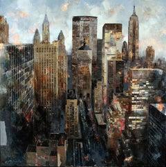45039 - 21st Century, Contemporary, Figurative Painting