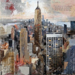 Empire - 21st Century, Contemporary, Figurative Painting, Mixed Media