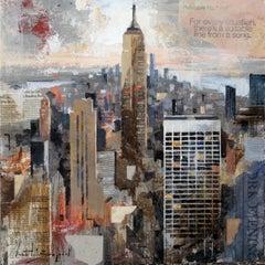Empire - 21st Century, Contemporary, Figurative Painting, Mixed Media