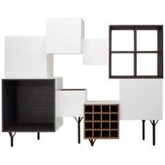 Martí Guixé Free Port Cabinet, Model B, for BD