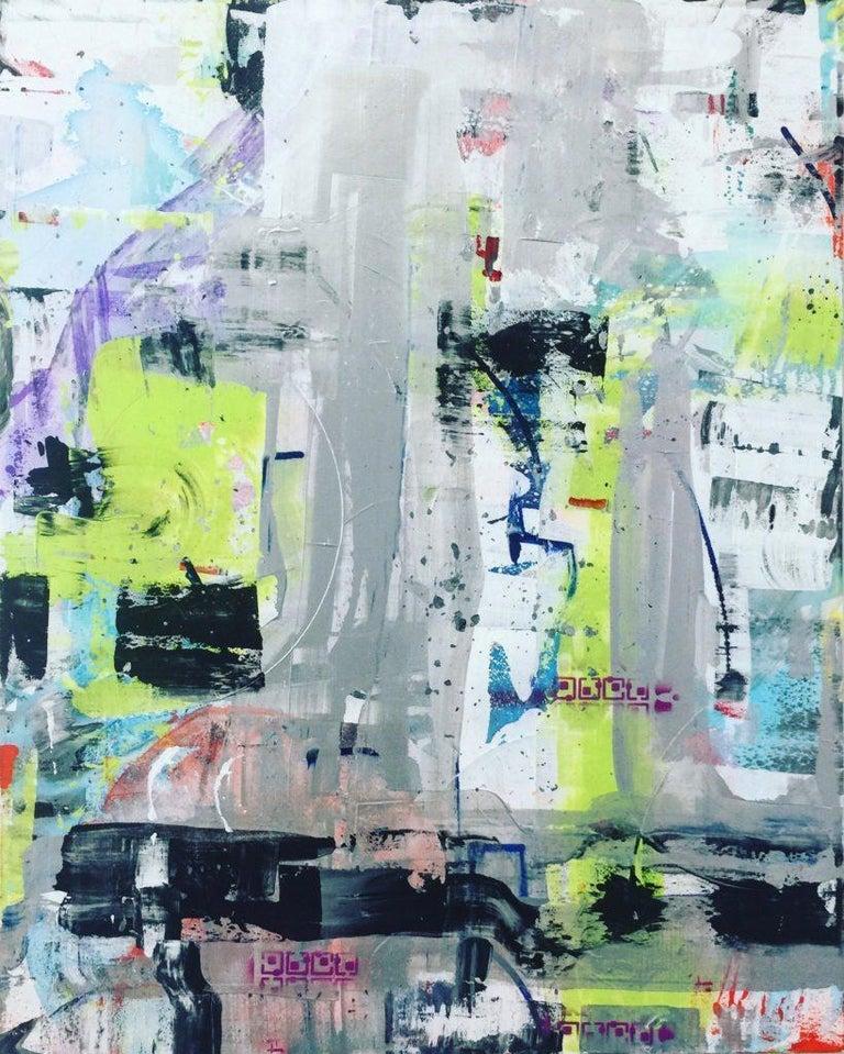 Martin Durazo Abstract Painting - Jezebel