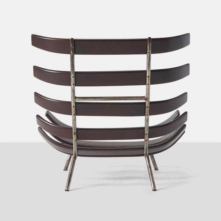 Brazilian Martin Eisler and Carlo Hauner Costela Chair For Sale