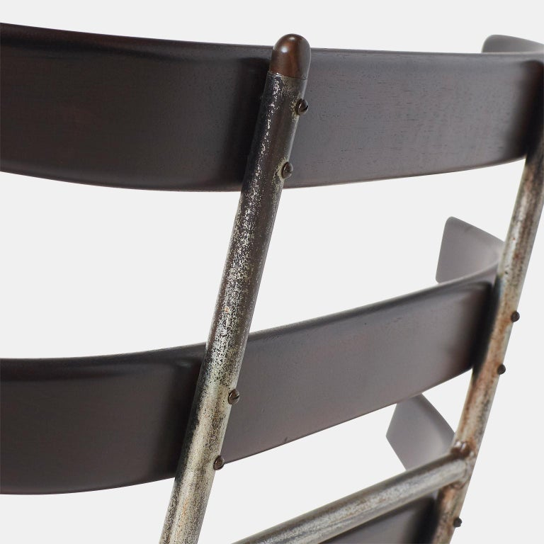 Mid-20th Century Martin Eisler and Carlo Hauner Costela Chair For Sale