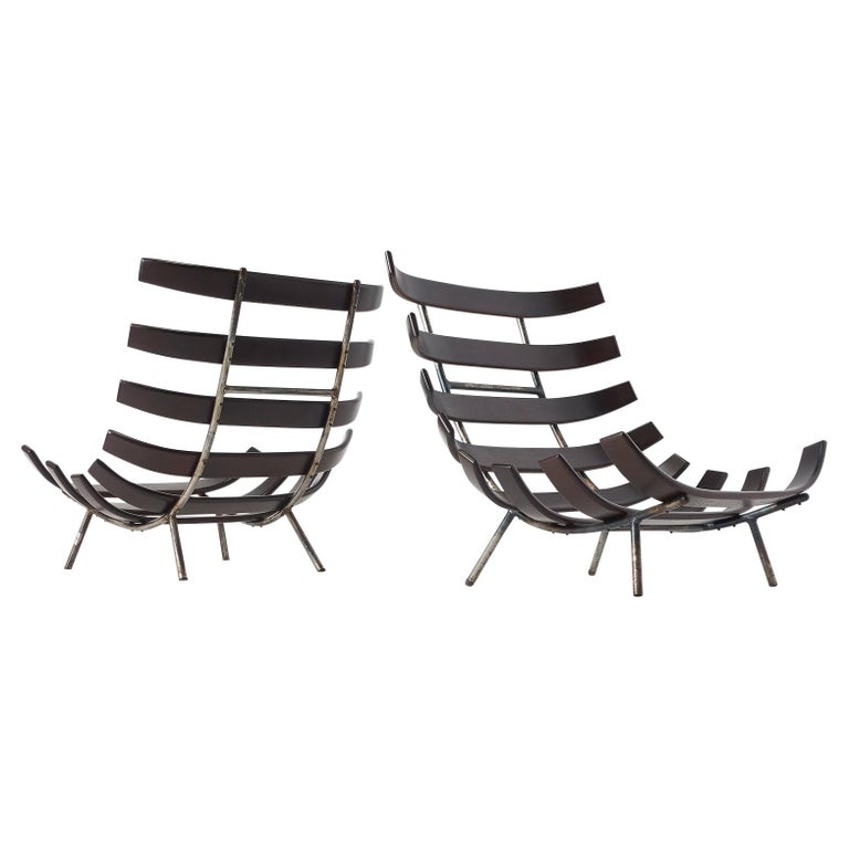 Martin Eisler and Carlo Hauner Costela Chair For Sale