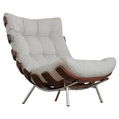 "Martin Eisler and Carlo Hauner ""Costela"" Lounge Chair, Brazil, 1950s"