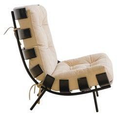 "Martin Eisler and Carlo Hauner ""Costela"" Lounge Chair, Brazil, 1953"