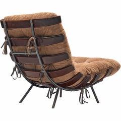 Martin Eisler & Carlo Hauner ' Costela' Chair in Rosewood