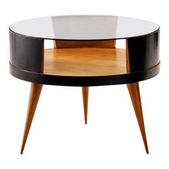 Martin Eisler Coffee Table in Caviuna Wood, Brazil, 1950s