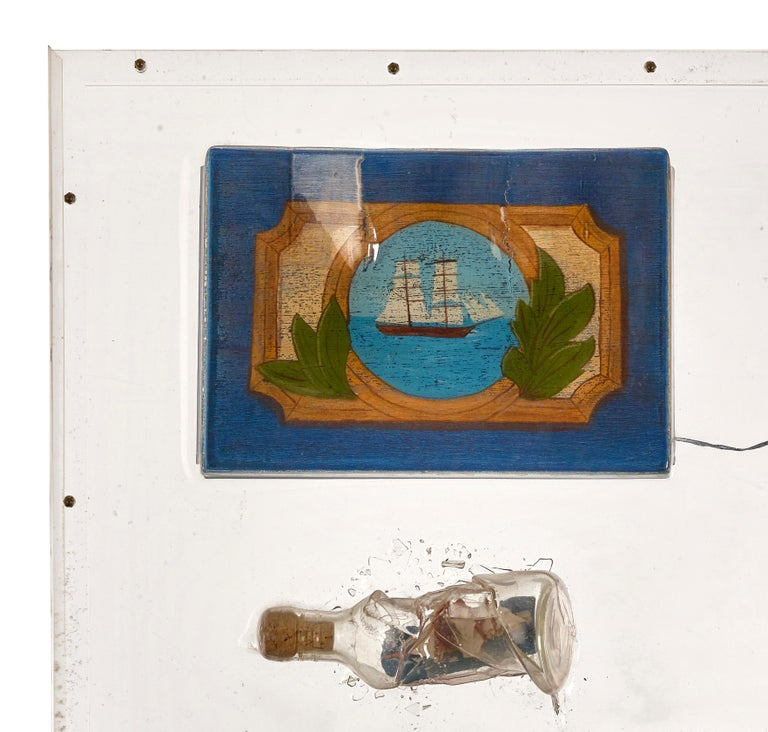 The Drunken Boat - Contemporary Mixed Media Art by Martin Engler