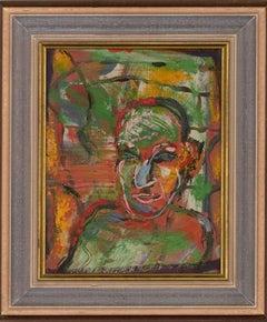 Martin Fuller (b.1943) - 1989 Oil, Elfin Head