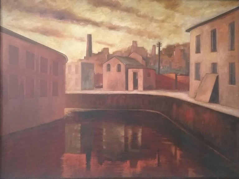 Still Water - Modern Painting by Martin Kane