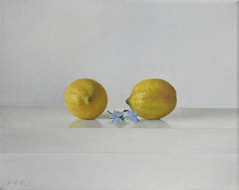 Martin La Rosa Still-Life Painting - Algunos limones V