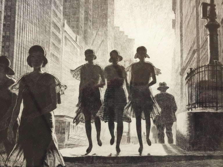 Shadow Dance - Print by Martin Lewis