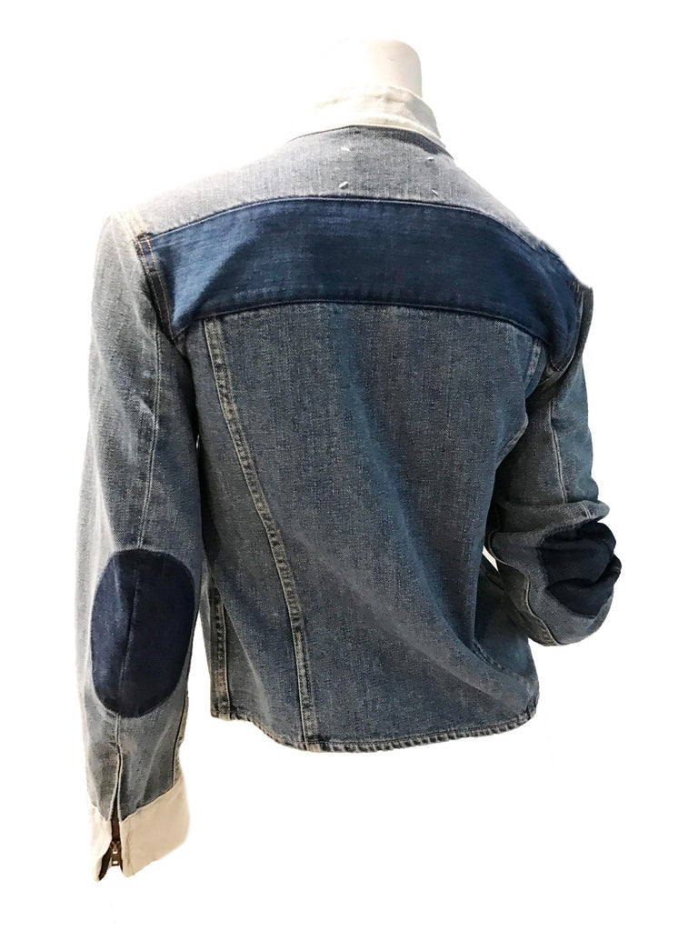 Martin Margiela Artisanal distressed denim jacket.   Size M   Condition: Very Good