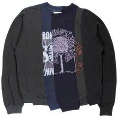 Martin Margiela AW2004 Artisanal Reconstructed Sweatshirt