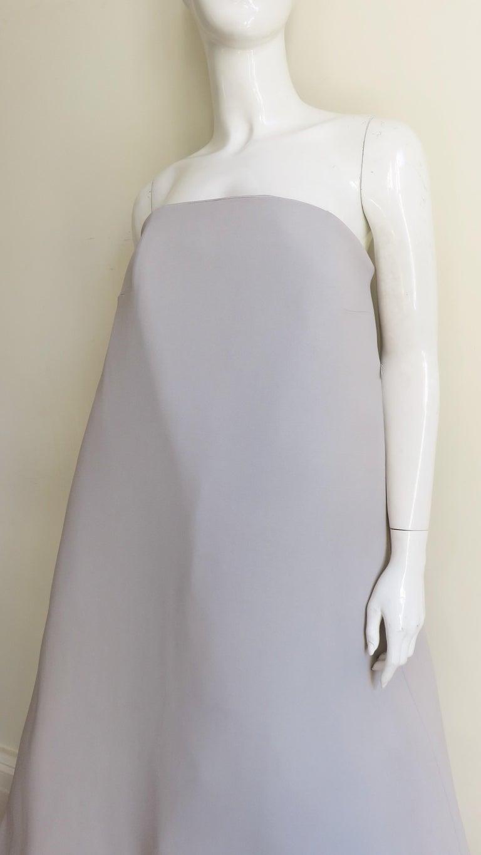 Women's Martin Margiela New Strapless Color Block Dress For Sale