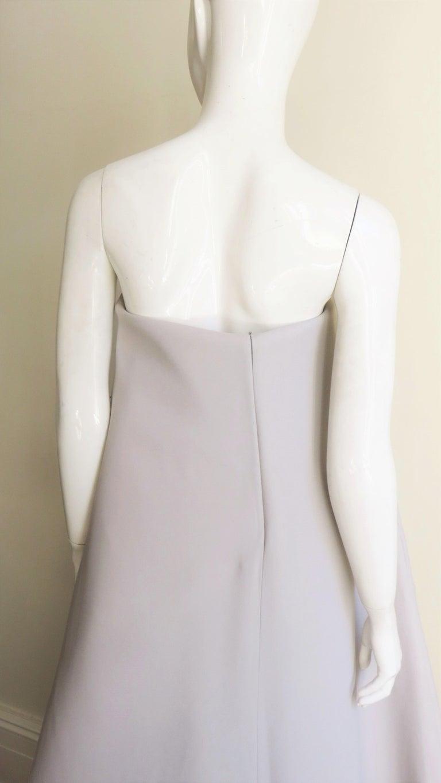 Martin Margiela New Strapless Color Block Dress For Sale 4
