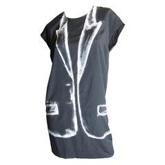 Martin Margiela Silk Tuxedo Dress