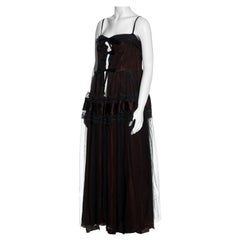 Martin Margiela tulle waistcoat made from a 1950s ballgown, ss 1991