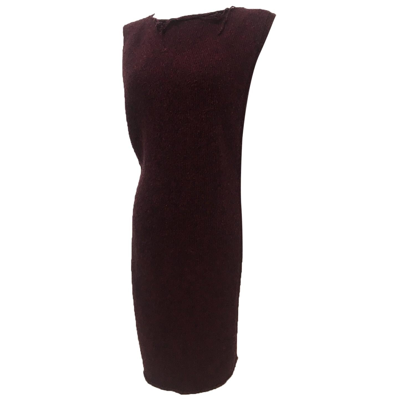 Martin Margiela Wool Neck Dress Body Piece Circa 2000