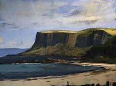 Irish Landscape, Fair Head County Antrim, Martin Mooney, Oil Painting
