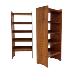 Martin Nyrop, Pair of Bookcases for Rud Rasmussen, circa 1930, Denmark