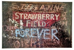 Strawberry Fields, Contemporary Color Photo of Beatlemania, Liverpool, England