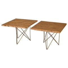 Martin Perfit for Rene Brancusi Side Tables