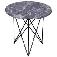 Martin Perfit Marble Side Table with Hairpin Legs