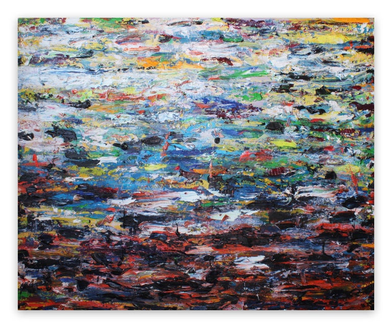 Martin Reyna  Abstract Painting - Paysage (Ref 18085)